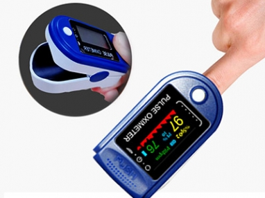 How does Jiangnan Medical's portable finger pulse oximeter fight COVID-19?