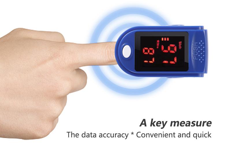 finger pulse oximeter
