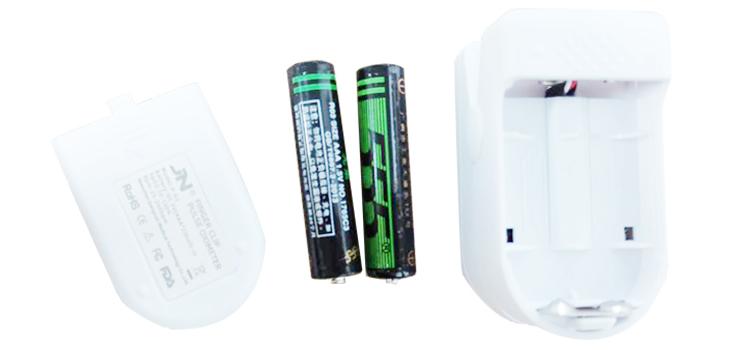 fingertip pulse oximeter battery
