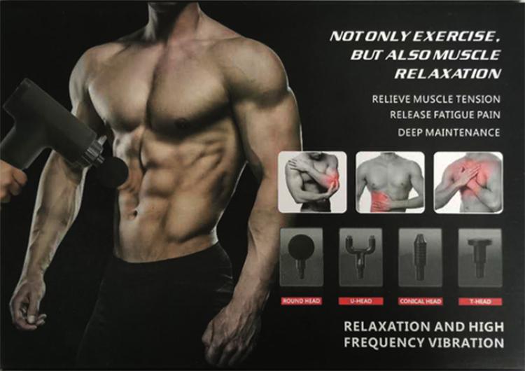Handheld Massager Gun