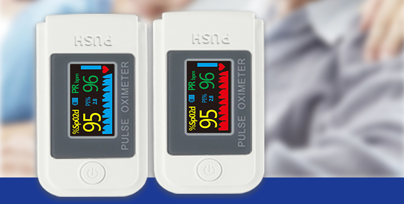 Portable Blood Saturation Monitor